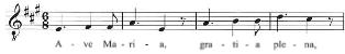 Mendelssohn Ave Maria Op 23 No 2