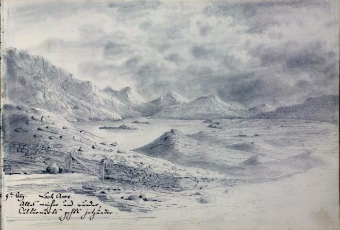 Loch Awe 9 August 1829