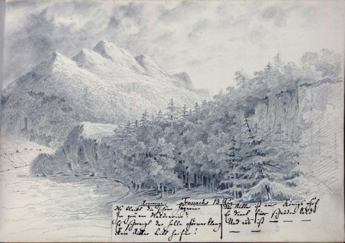 The Trossachs 13 August 1829