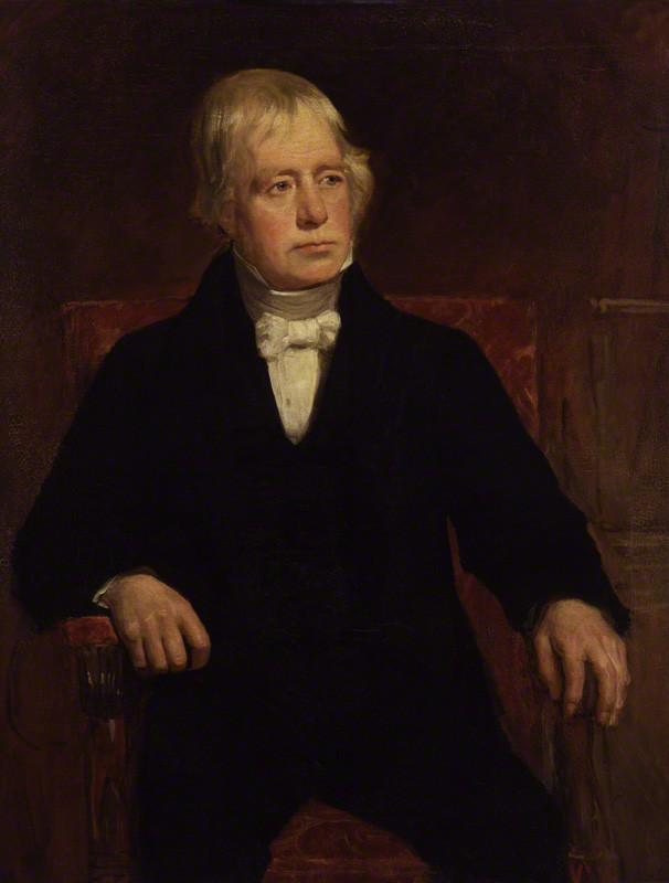 Sir Walter Scott (1771-1832), painting by John Graham Gilbert