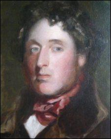 Portrait of Mendelssohn by Thomas Duncan, painted in Edinburgh or Perth, Scotland, 1829