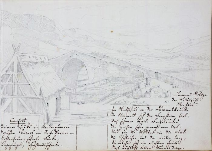 Tummel Bridge, 4 August 1829